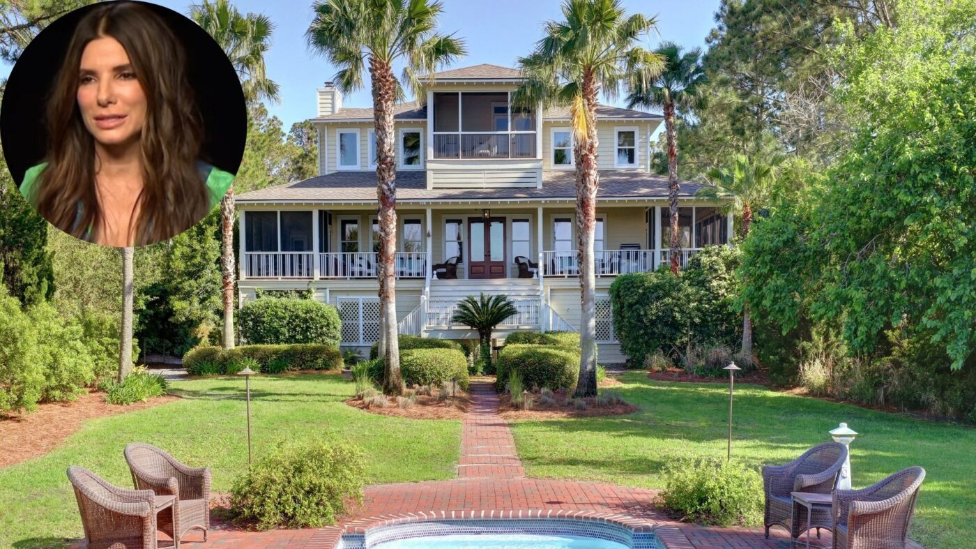 Sandra Bullock sells Tybee Island estate below asking at $4.2M