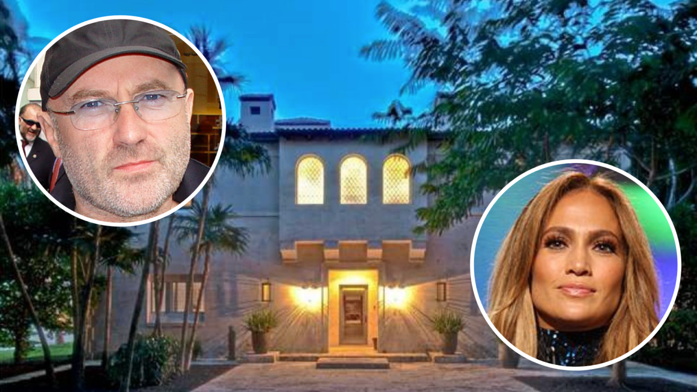 Phil Collins sells $40M home once owned by Jennifer Lopez