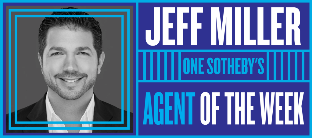 Miami agent Jeff Miller shares the spark behind his 20-year career