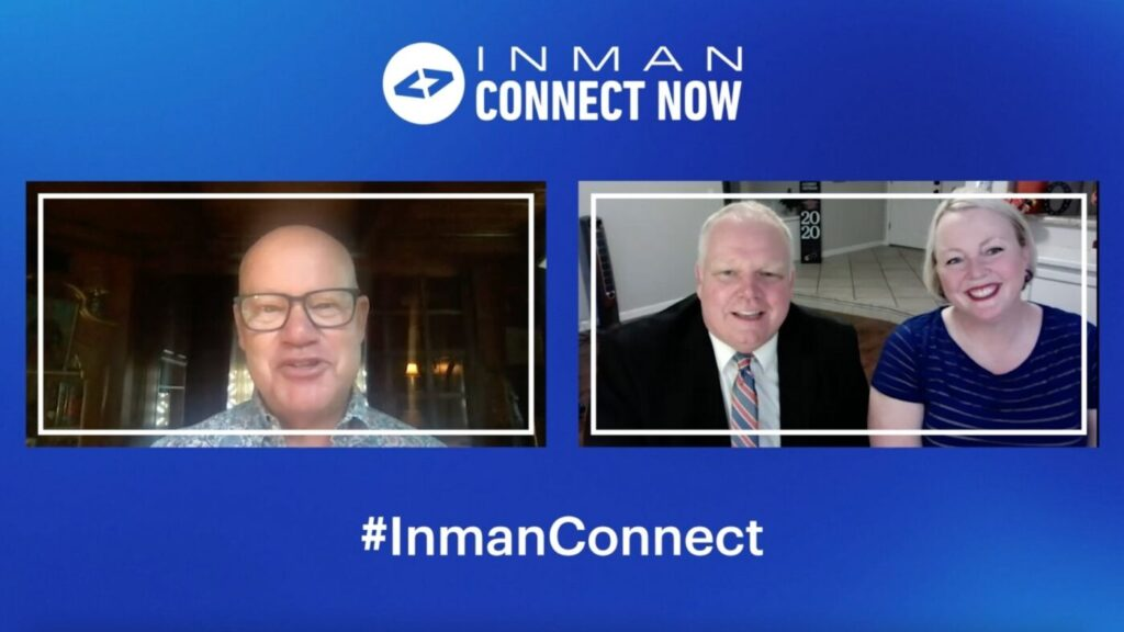 WATCH: Brad Inman's conversation with 2 top agents at Connect Now