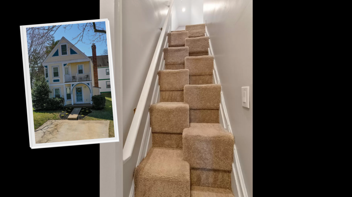 Supernatural stairway found on Zillow sends social media aflutter