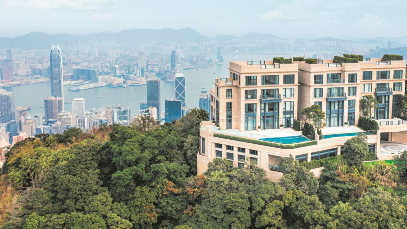 A Hong Kong home is asking a whopping $2M in annual rent