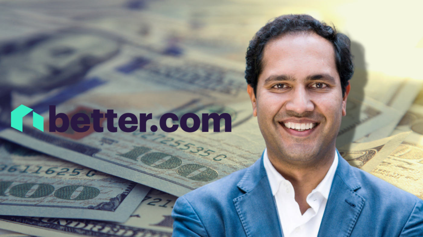 SoftBank invests $500M in fintech startup Better.com