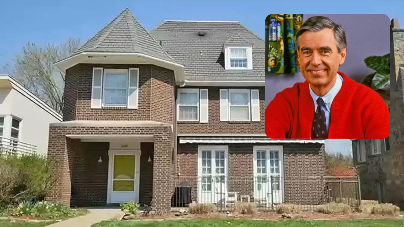 Mr. Rogers' one-time home is up for sale in Pittsburgh