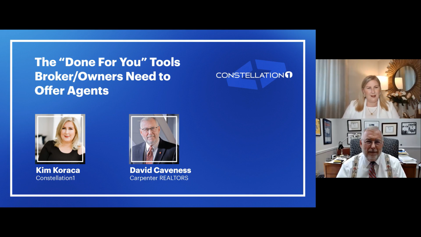 """The """"Done for you"""" tools broker/owners need to offer agents"""