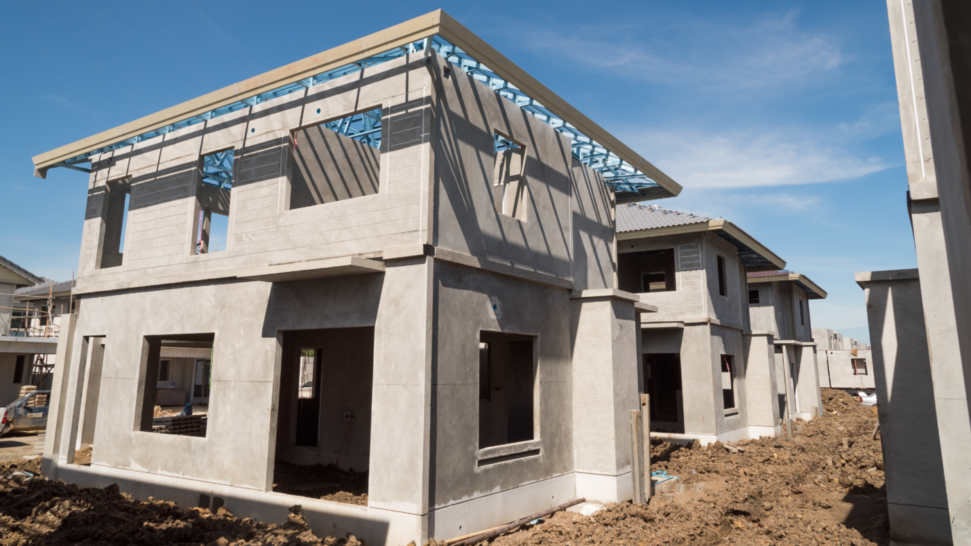 Rising construction costs curbed homebuilders' pace in April