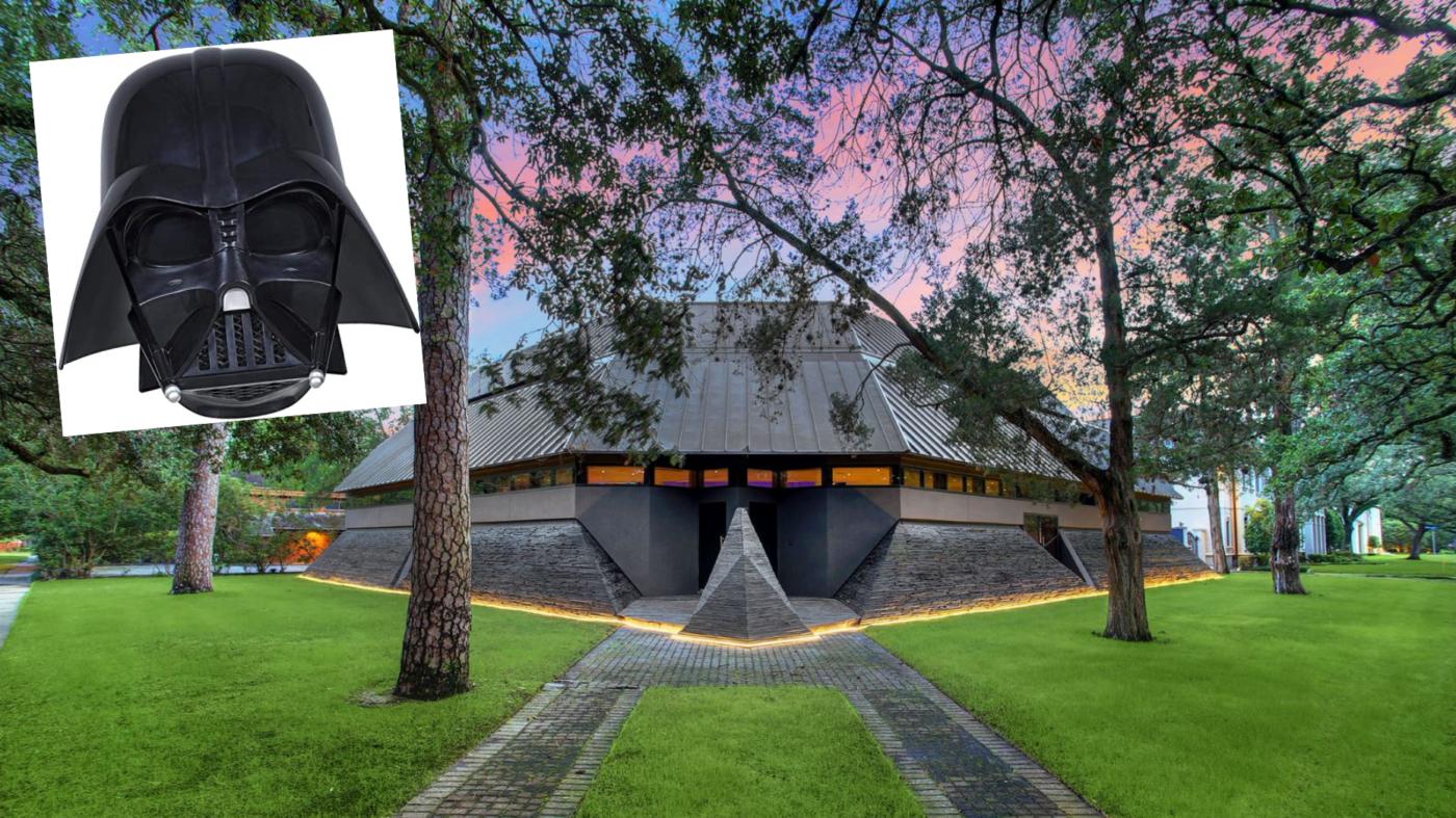 In a galaxy far far away: 'Darth Vader House' lists for $4.3M