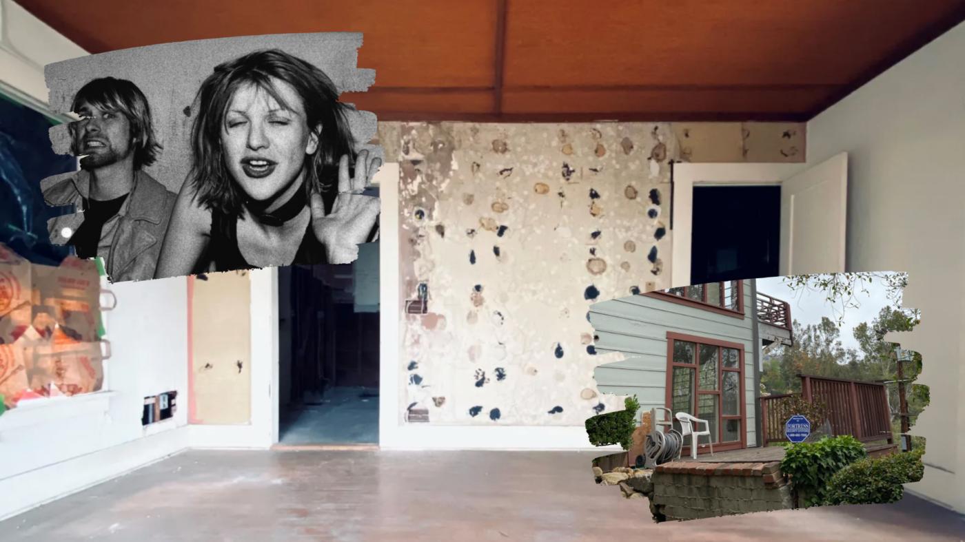 Kurt Cobain and Courtney Love's one-time LA home lists for $1M