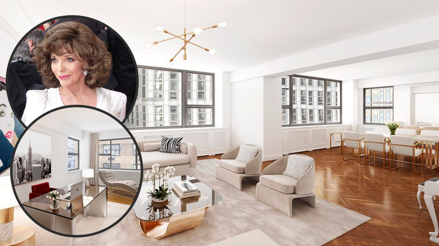 Joan Collins sells NYC co-op with 16 closets for $2M