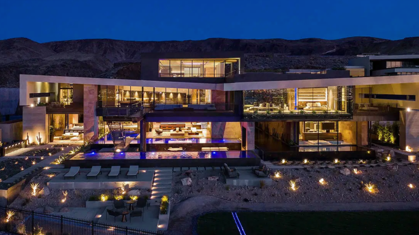 Las Vegas home sells for $25M, shatters Sin City sales record