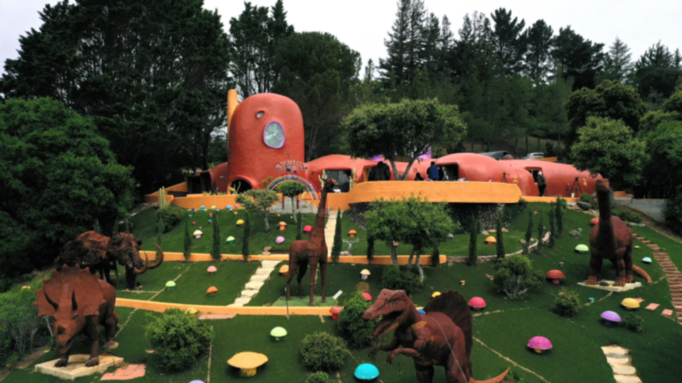 Yabba Dabba Doo! Flintstone House owner can keep statues, court rules