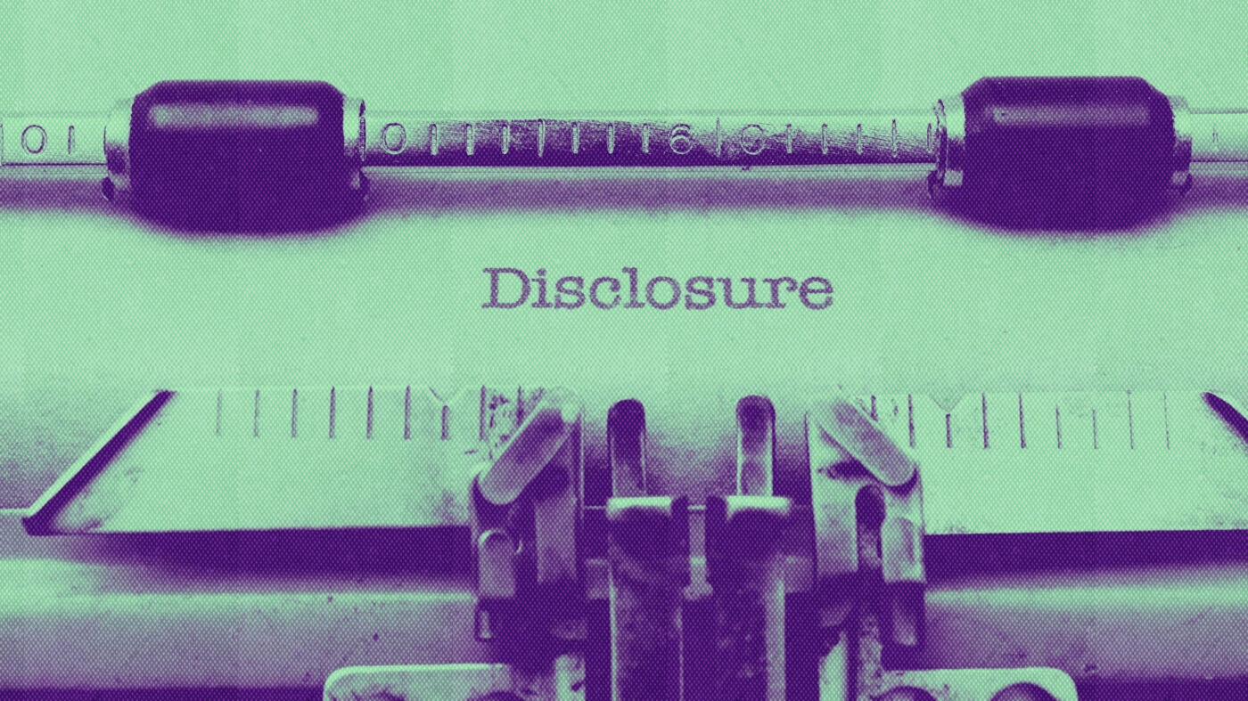 Full disclosure: Sellers fear transparency — here's how to get past it