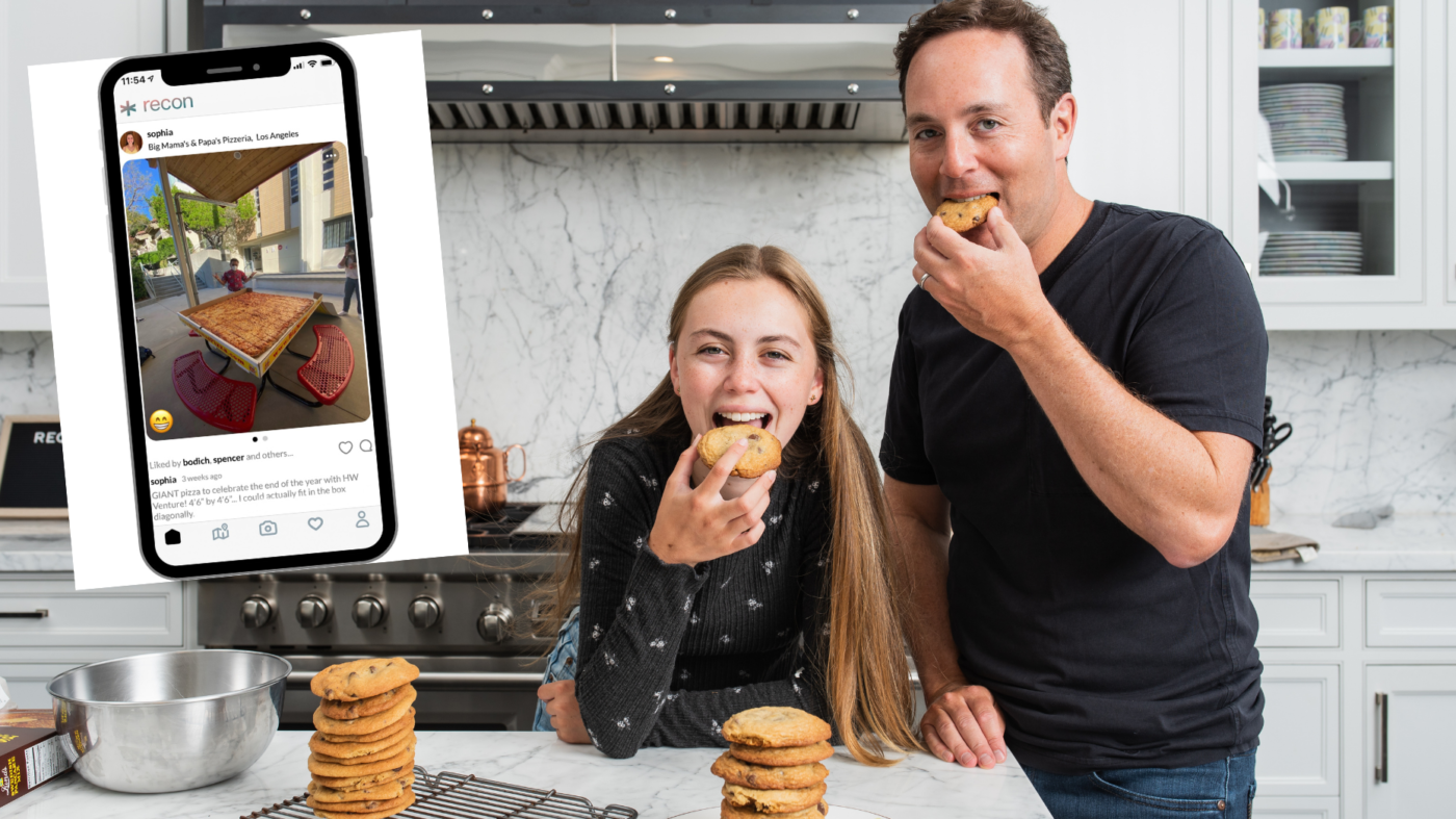 Spencer Rascoff launches food-forward app with his daughter