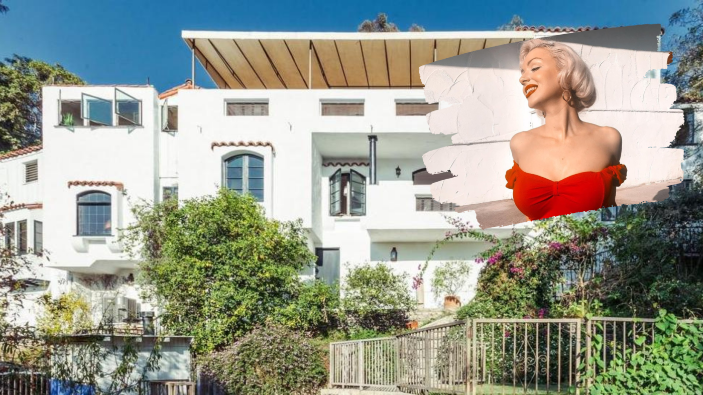A Marilyn Monroe impersonator lives in the star's one-time home