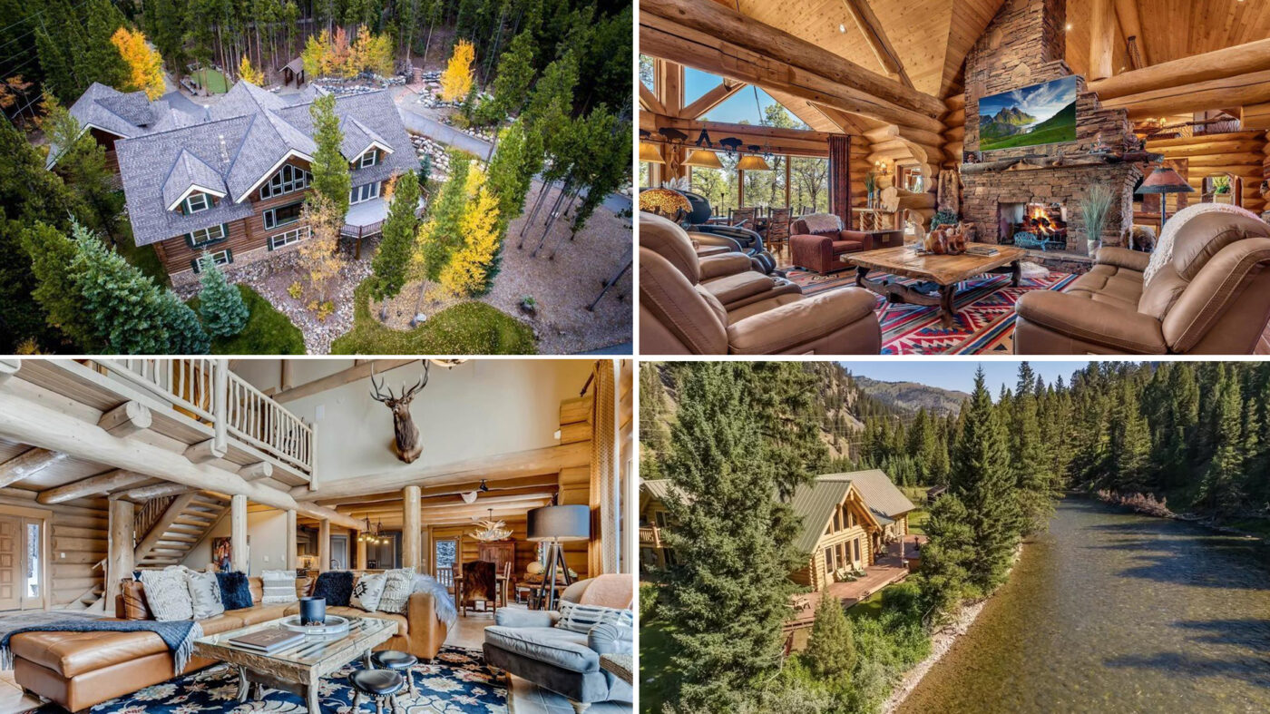 10 of the most luxurious log cabins on the market