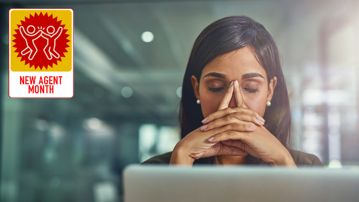 New agents: How you handle rejection can make or break you