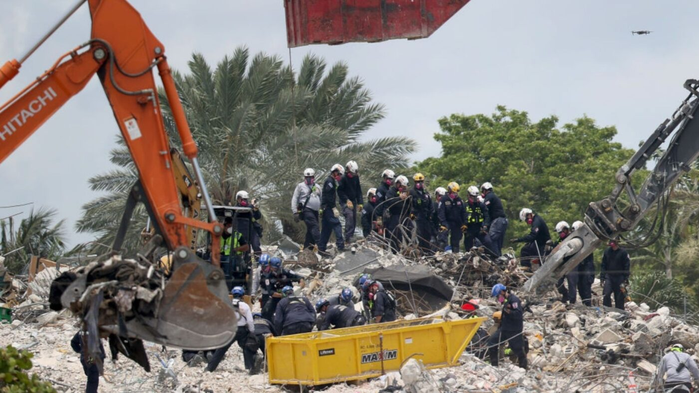 8 more bodies found after Surfside condo building demolished