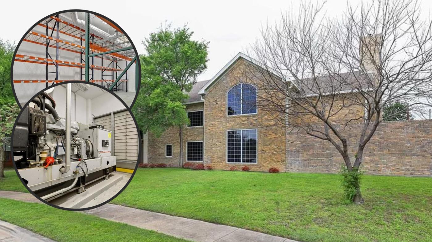 Dallas 'mansion' with no bedrooms, windows mocked on social media