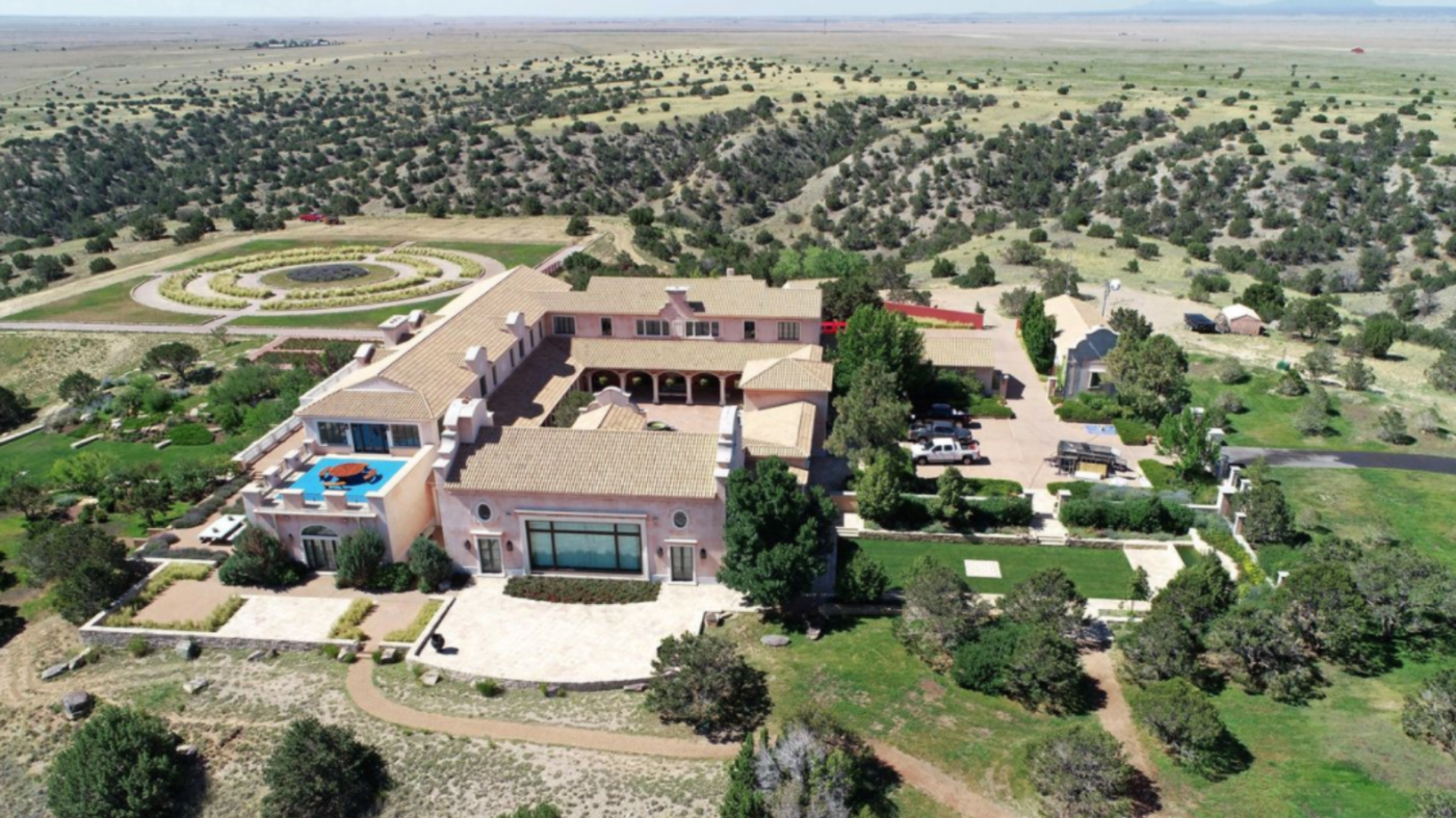 Jeffrey Epstein's New Mexico ranch lists for $27.5M