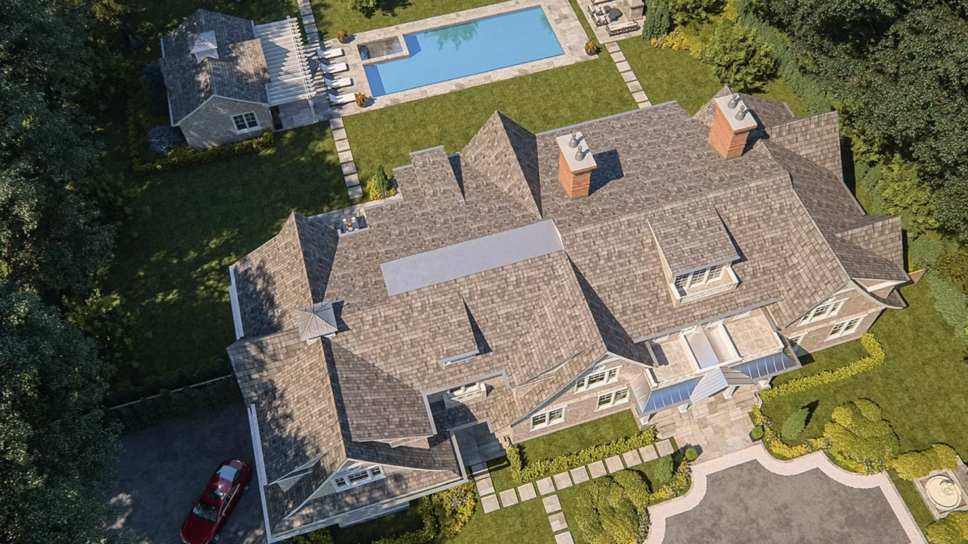 A Hamptons spec home has it all — including a million-dollar television