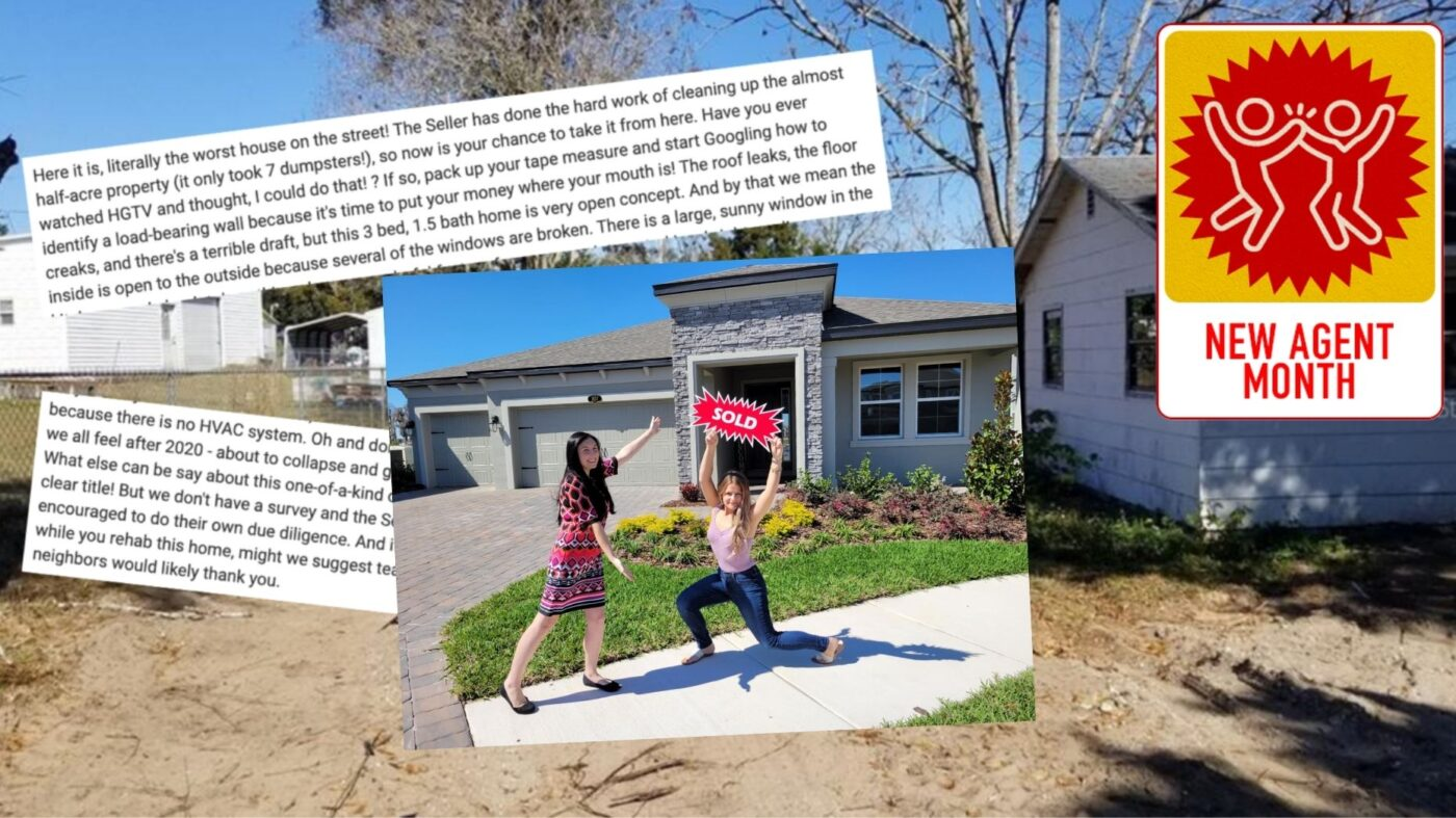 This millennial agent's listings keep going viral. Here's why