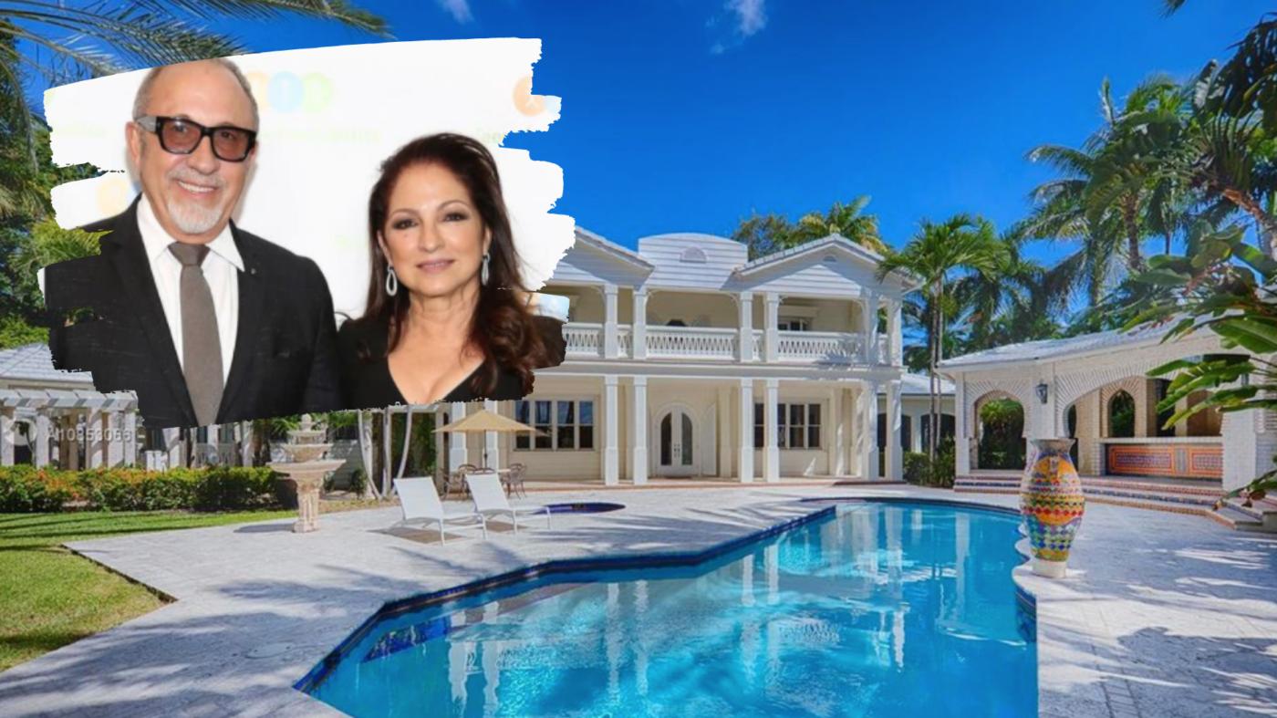 Emilio and Gloria Estefan sell Miami mansion for $35M