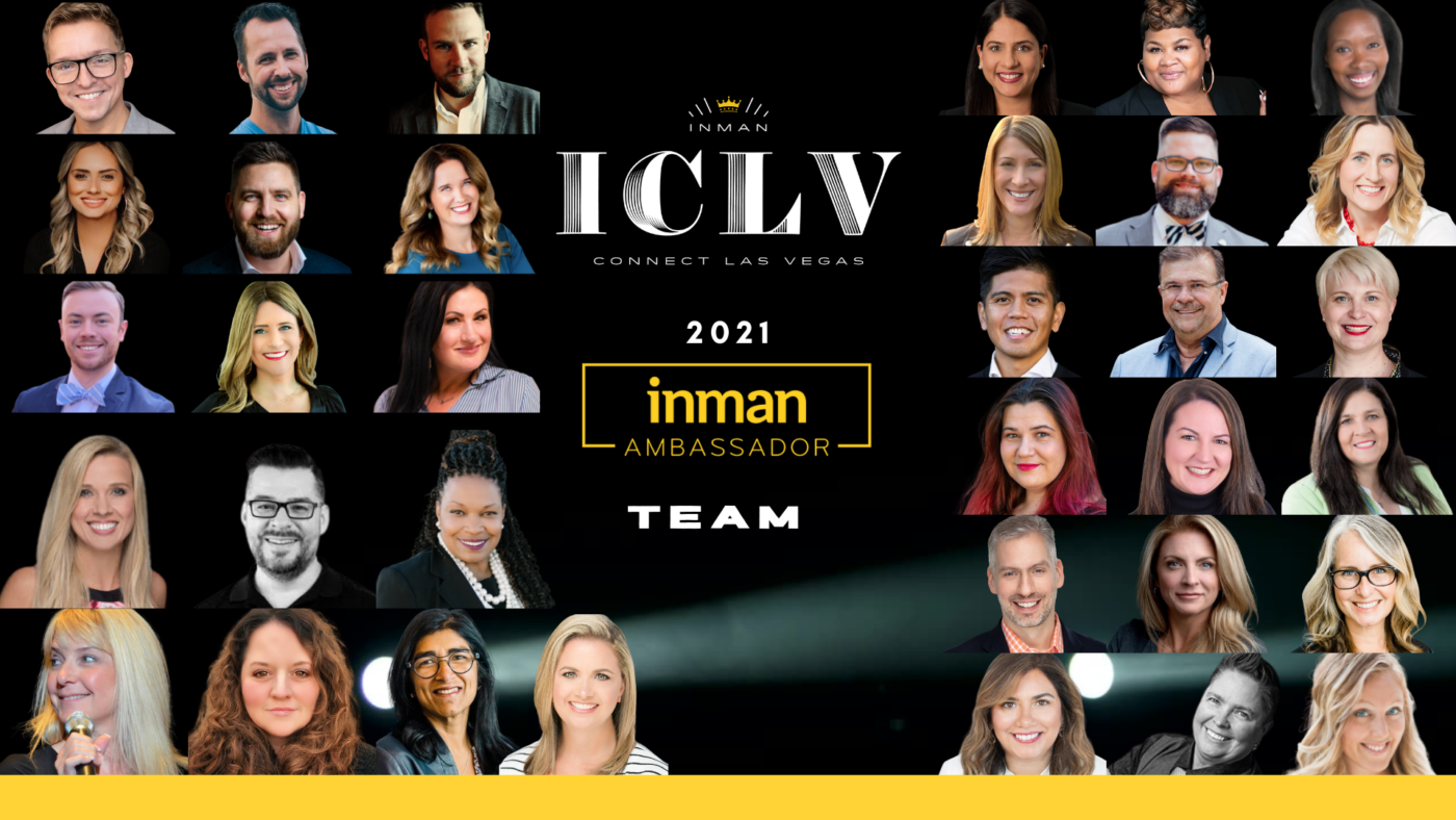 Inman announces the Inman Connect Las Vegas Ambassador Team