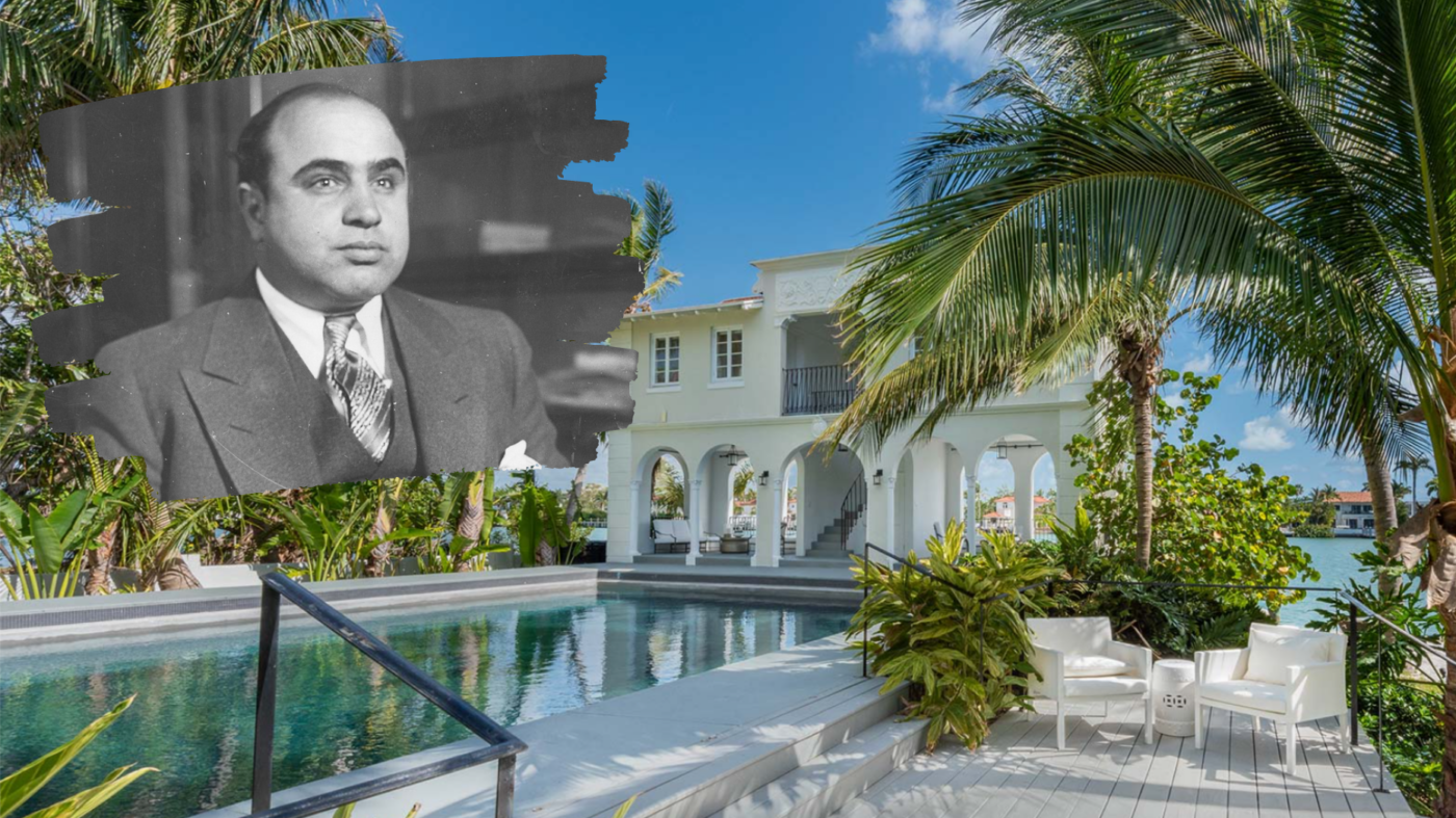Al Capone's one-time Miami mansion sells for $15.5M