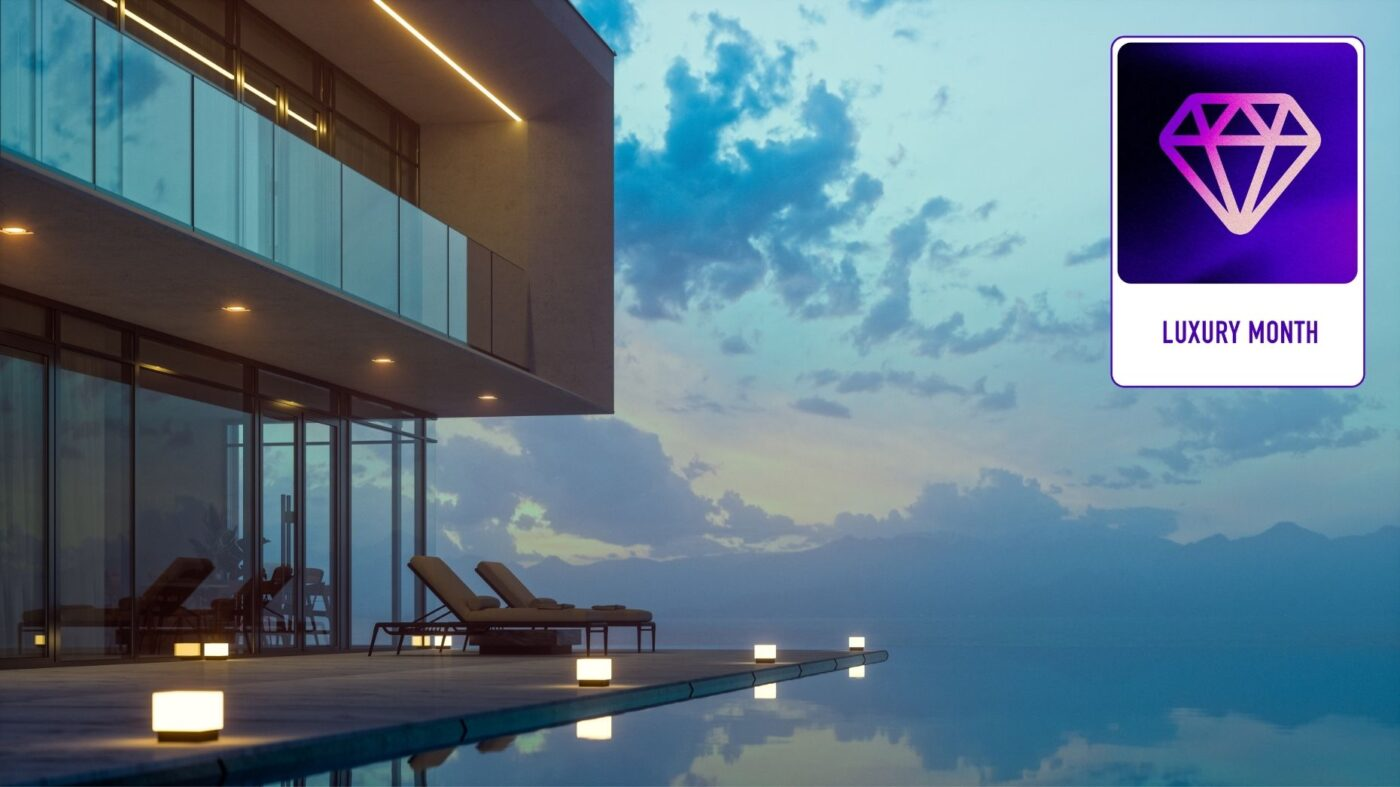 Bask in the lap of luxury real estate this October with Inman